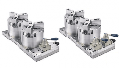 New Product - Air Chuck Fixture(DOUBLE PISTON)